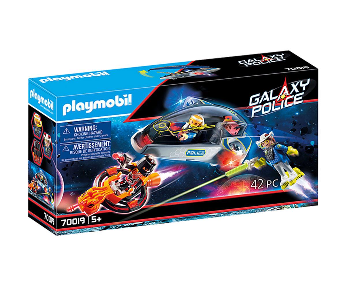 Конструктор за деца Галактически полицейски планер Playmobil 70019