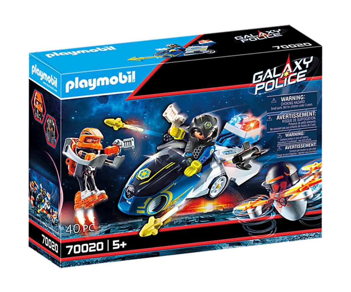 Конструктор за деца Галактическо полицейско колело Playmobil 70020