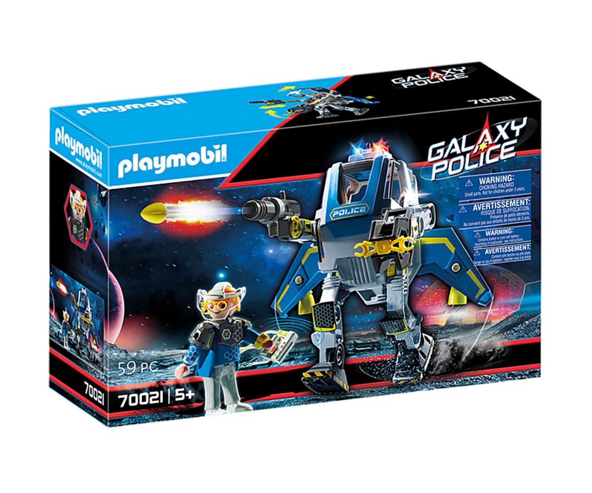 Конструктор за деца Галактически полицейски робот Playmobil 70021