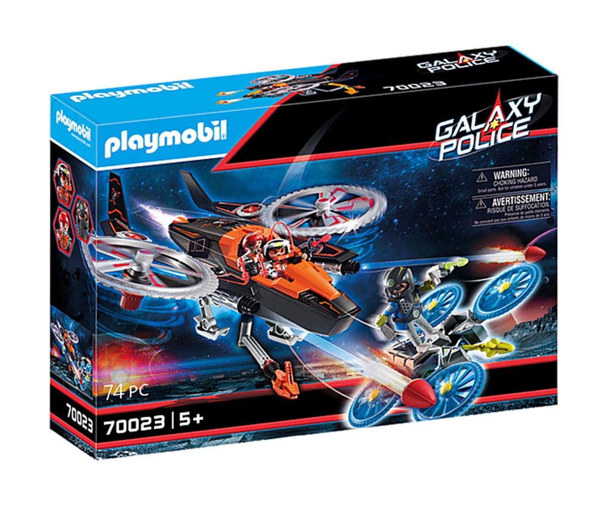 Конструктор за деца Галактически пиратски хеликоптер Playmobil 70023