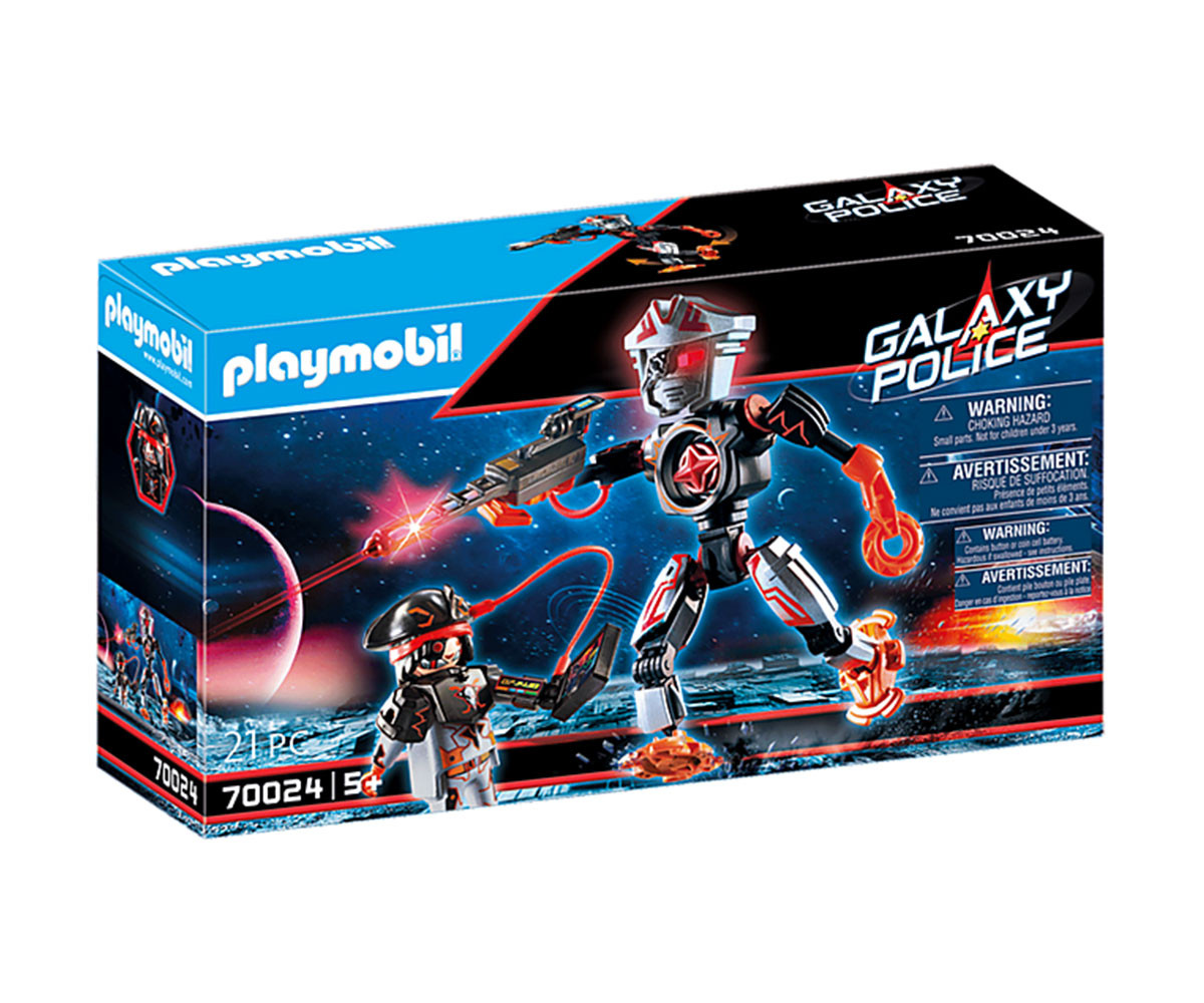 Конструктор за деца Галактически пиратски робот Playmobil 70024