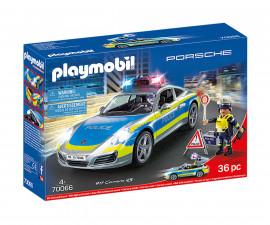 Детски конструктор полицейска кола Playmobil 70066