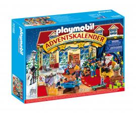 Детски Коледен Календар Playmobil 70188 - Коледен календар Коледен магазин за играчки