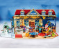 Детски Коледен Календар Playmobil 70188 - Коледен календар Коледен магазин за играчки thumb 3