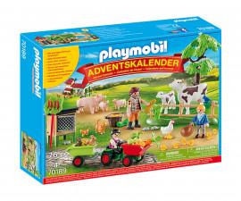 Детски Коледен Календар Playmobil 70189 - Коледен календар Ферма