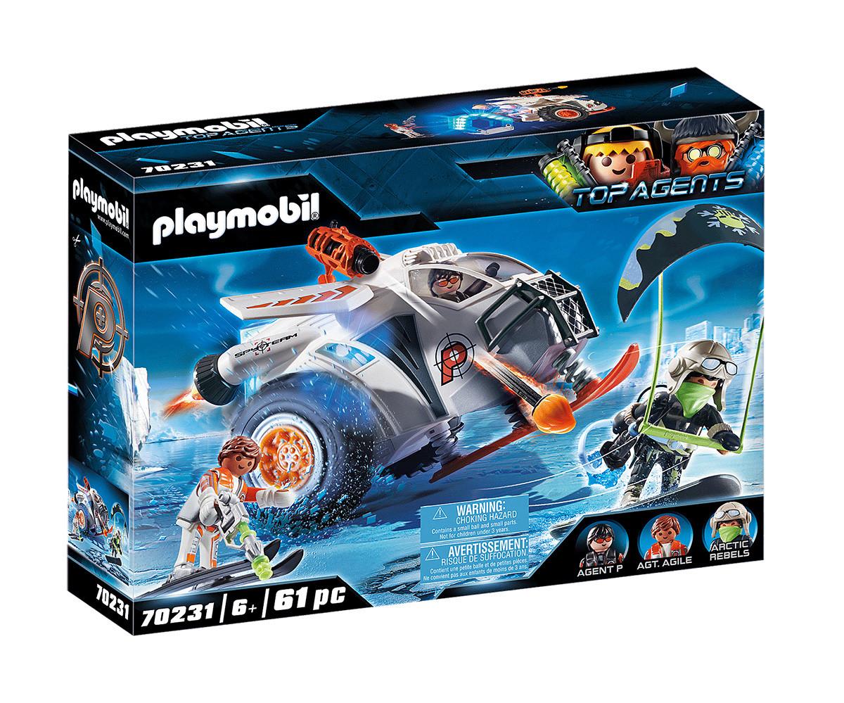 Детски конструктор Playmobil - 70231, серия Top Agents