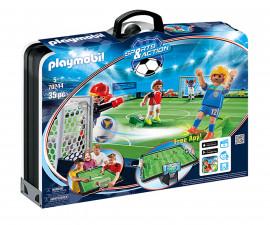 Конструктор за деца Футболно игрище Playmobil 70244