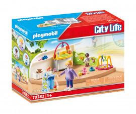 Детски конструктор Playmobil - 70282, серия City Life