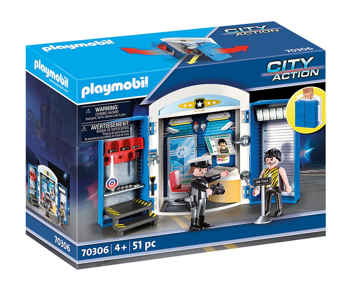 Детски конструктор Playmobil - 70306, серия City Action