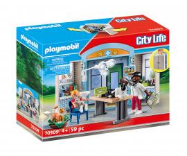 Детски конструктор Playmobil - 70309, серия City Life