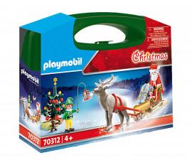 Детско коледно куфарче Playmobil 70312