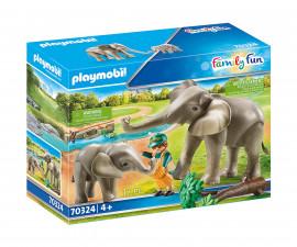 Детски конструктор Playmobil - 70324, серия Family Fun