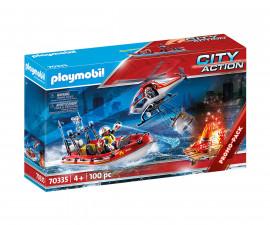 Детски конструктор Playmobil - 70335, серия City Action