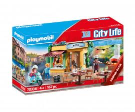 Детски конструктор Playmobil - 70336, серия City Life