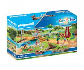 Детски конструктор Playmobil - Зоологическа градина - 70342, серия Family Fun