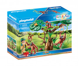 Детски конструктор Playmobil - 70345, серия Family Fun
