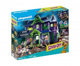 Конструктор за деца Скуби Ду: Приключение в имението на мистериите Playmobil 70361