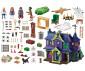 Конструктор за деца Скуби Ду: Приключение в имението на мистериите Playmobil 70361 thumb 2