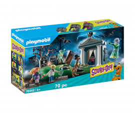 Конструктор за деца Скуби Ду: Приключение в гробището Playmobil 70362