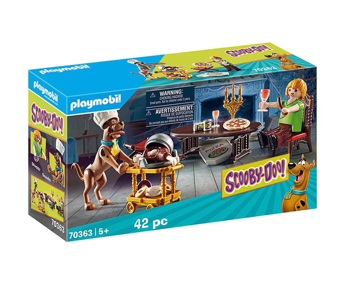 Конструктор за деца Скуби Ду: Вечеря с Шаги Playmobil 70363