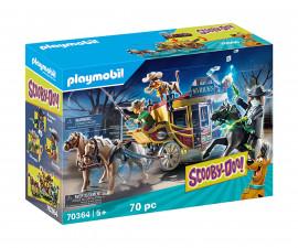 Конструктор за деца Скуби Ду: Приключение в Дивия Запад Playmobil 70364