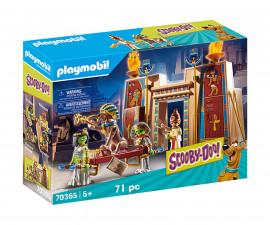 Конструктор за деца Скуби Ду: Приключение в Египет Playmobil 70365