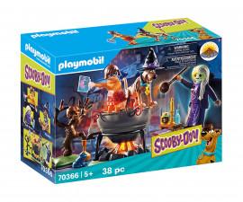 Конструктор за деца Скуби Ду: Приключение в котела на вещицата Playmobil 70366