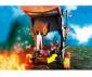Конструктор за деца Рицарите от Бърнам: Огнен таран Playmobil 70393 thumb 3