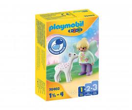 Детски конструктор Playmobil - 70402, серия 1-2-3