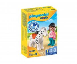 Детски конструктор Playmobil - 70404, серия 1-2-3
