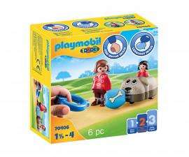 Детски конструктор Playmobil - 70406, серия 1-2-3
