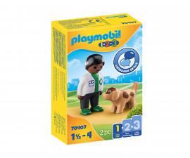 Детски конструктор Playmobil - 70407, серия 1-2-3