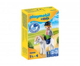 Детски конструктор Playmobil - 70410, серия 1-2-3