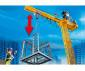 Конструктор за деца Кран със строителна кула Playmobil 70441 thumb 4
