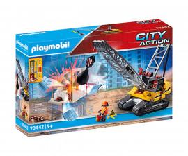 Конструктор за деца Кран за разрушаване Playmobil 70442
