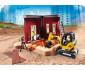 Конструктор за деца Мини екскаватор със строителна площадка Playmobil 70443 thumb 5
