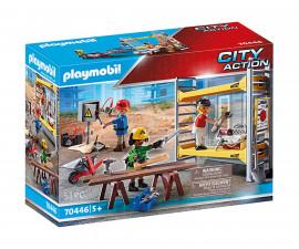 Конструктор за деца Работници на скеле Playmobil 70446