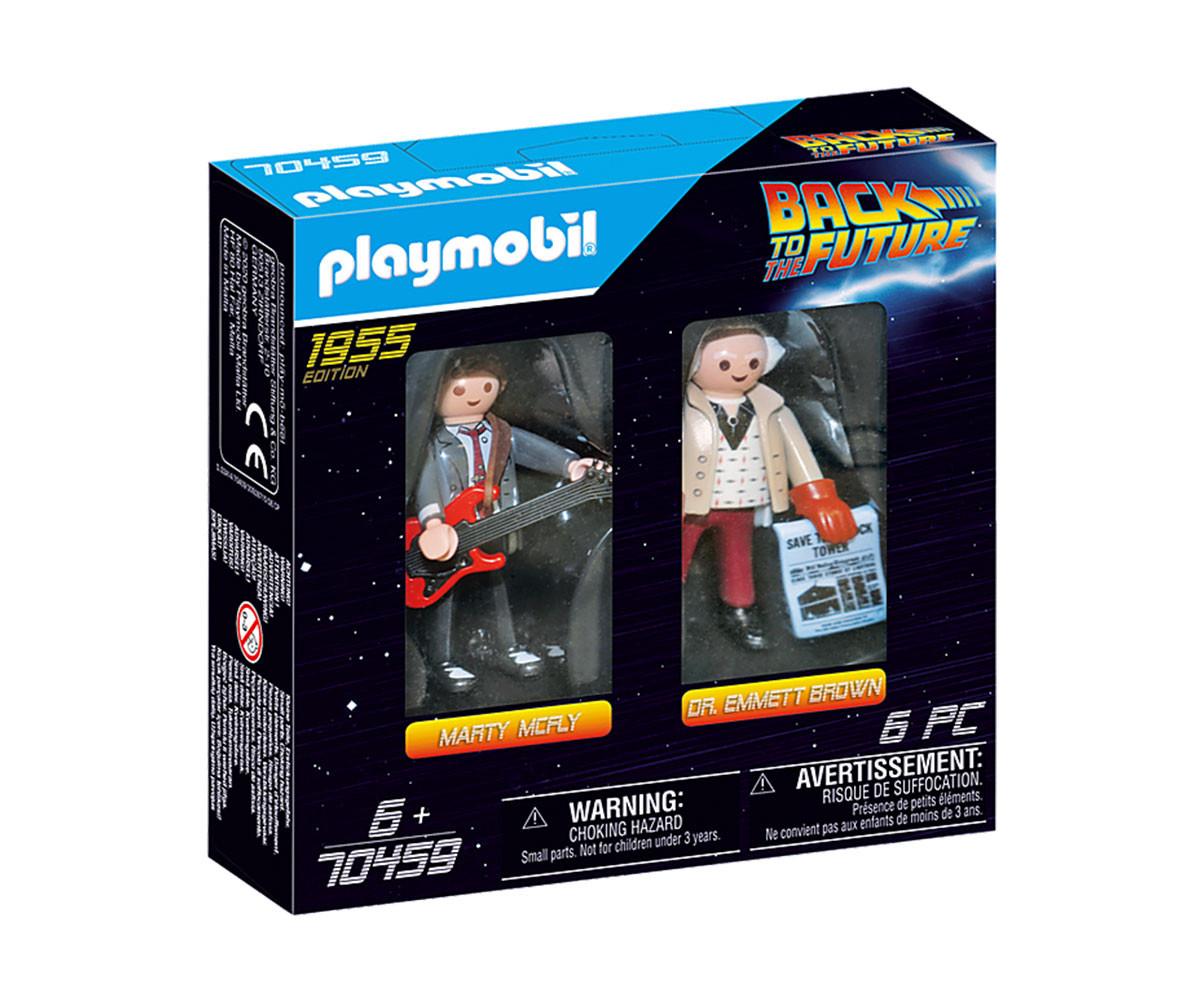 Конструктор за деца Завръщане в бъдещето: Марти Макфлай и д-р Емет Браун Playmobil 70459