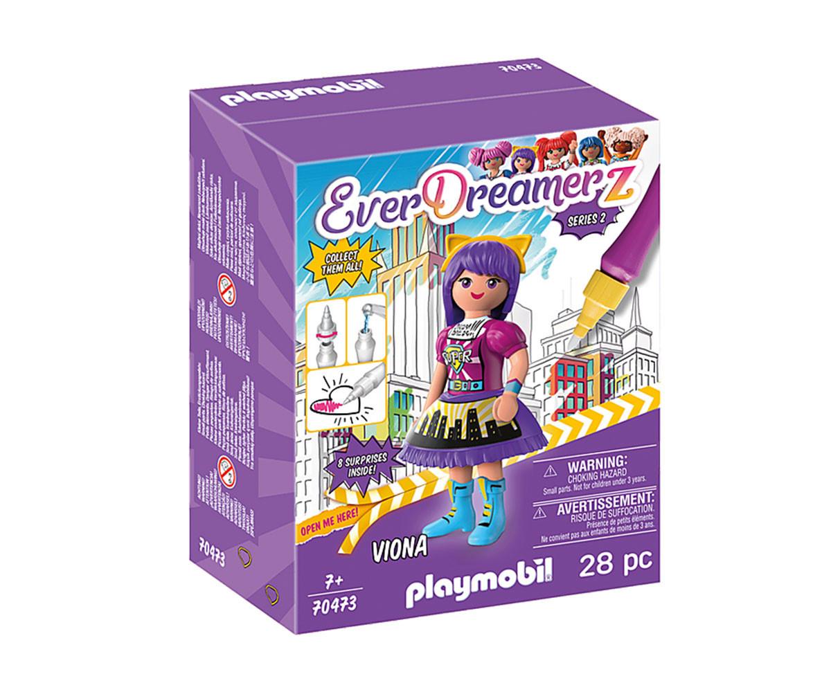 Конструктор за деца Комичен свят Виона Playmobil 70473