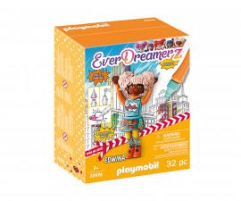 Конструктор за деца Комичен свят Едуина Playmobil 70476