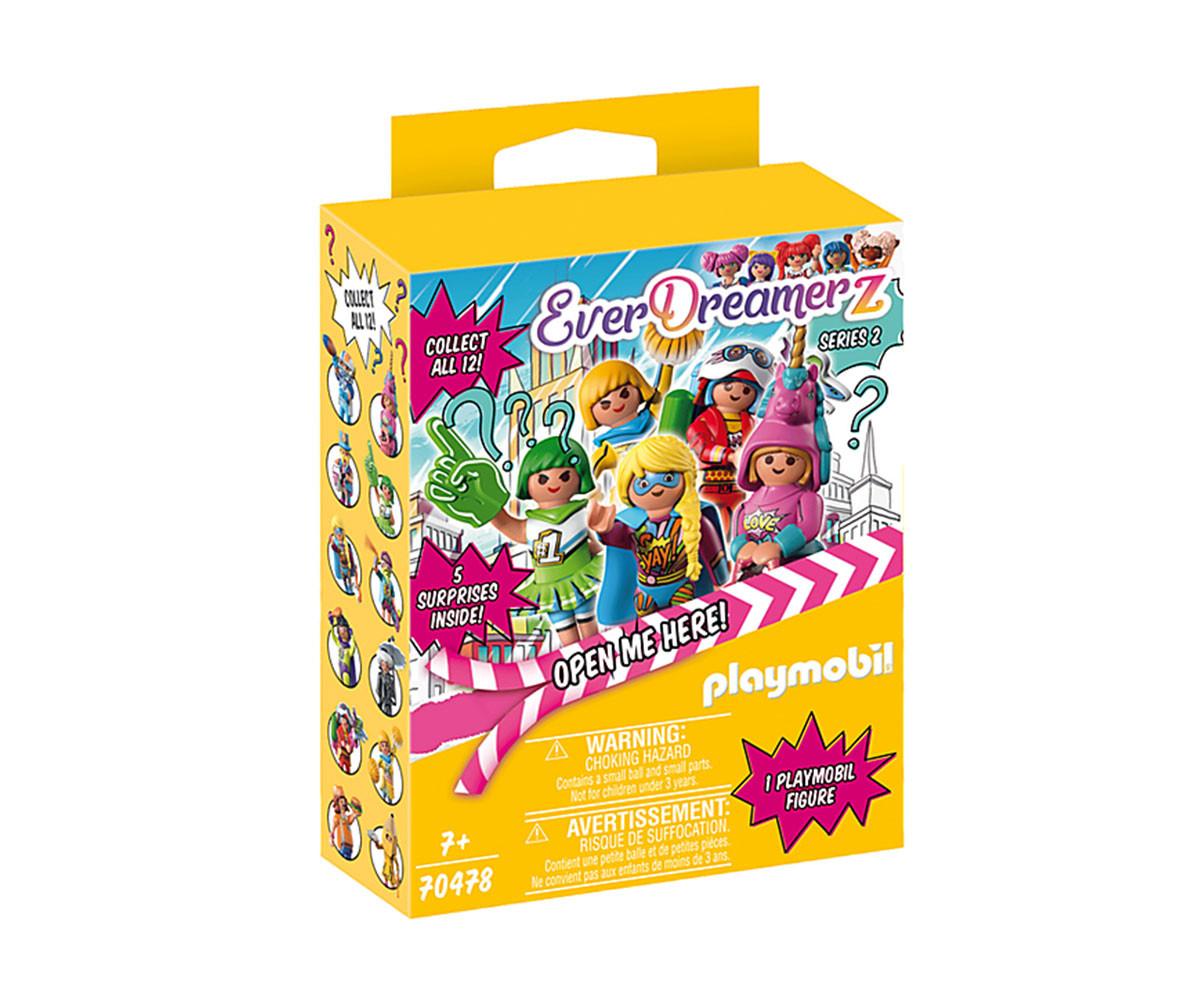 Конструктор за деца Комичен свят: Кутия изненада Playmobil 70478