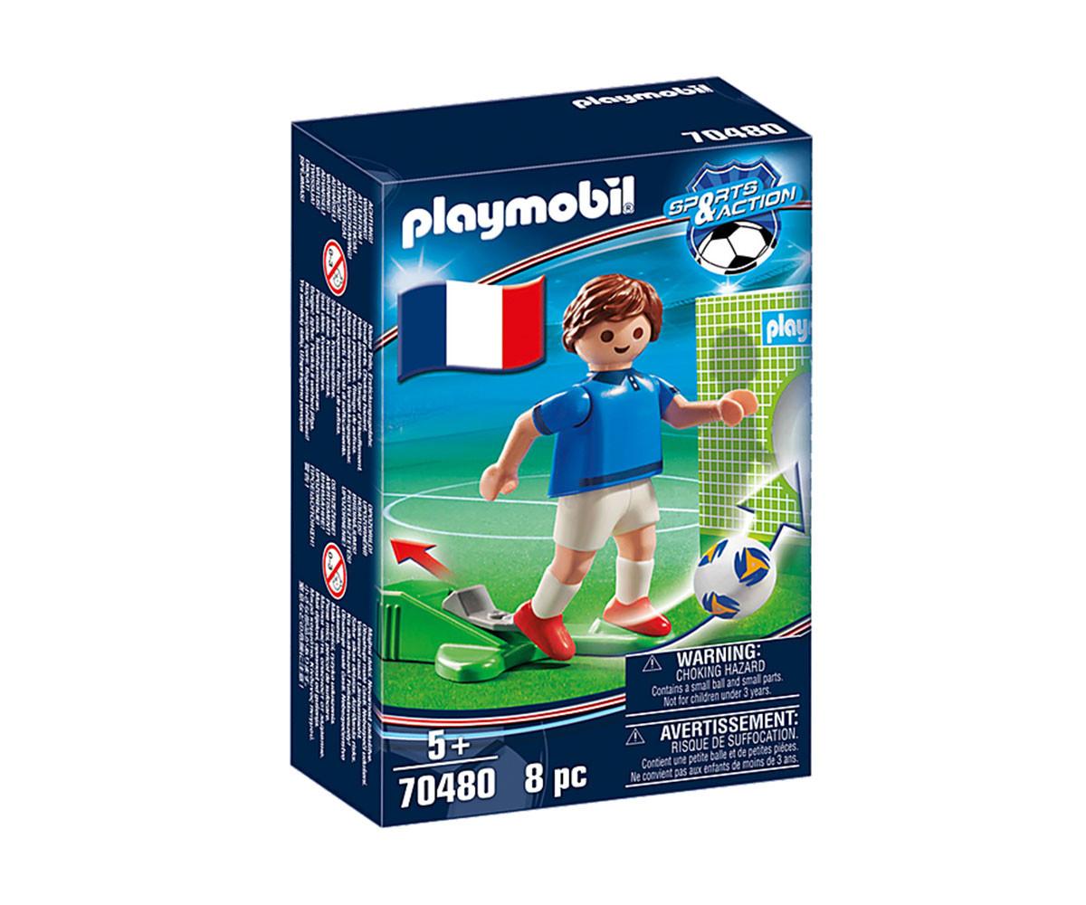 Конструктор за деца Национален играч Франция А Playmobil 70480