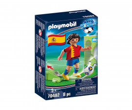 Конструктор за деца Национален играч Испания Playmobil 70482