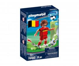 Конструктор за деца Национален играч Белгия Playmobil 70483
