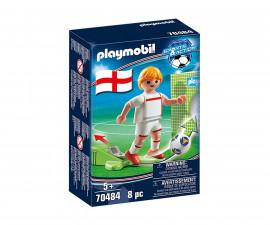 Конструктор за деца Национален играч Англия Playmobil 70484