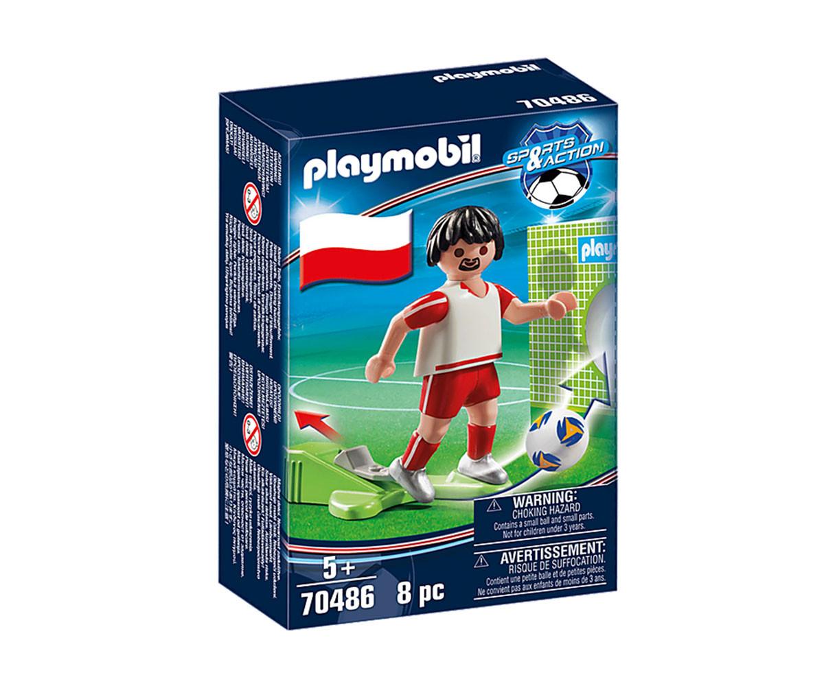 Конструктор за деца Национален играч Полша Playmobil 70486