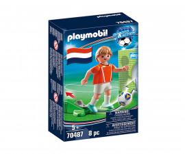 Конструктор за деца Национален играч Холандия Playmobil 70487