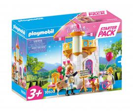 Детски Конструктор - Плеймобил 70500 - Стартов Пакет Кралски Замък