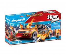 Детски конструктор Playmobil - 70551, серия Stunt Show