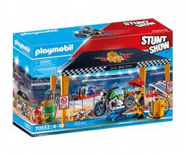 Детски конструктор Playmobil - 70552, серия Stunt Show